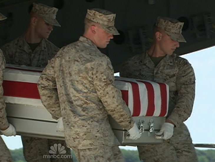 Remains of U.S. troops dumped in landfill