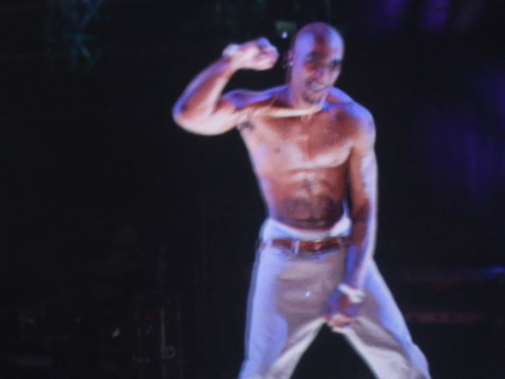 Tupac hologram steals show at Coachella - Video on NBCNews com