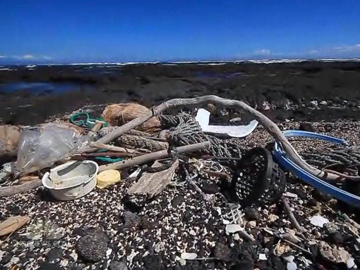 tsunami debris washes up in hawaii