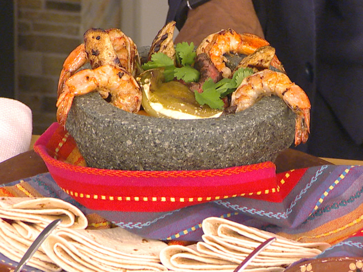 Spice Up Dinner With A Mexican Molcajete Feast Video On Today Com
