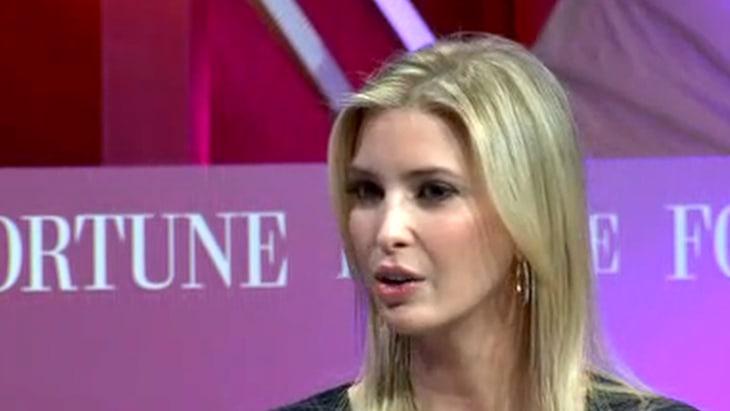 Ivanka Trump Says Dad 'Disrupting the Process' in ...