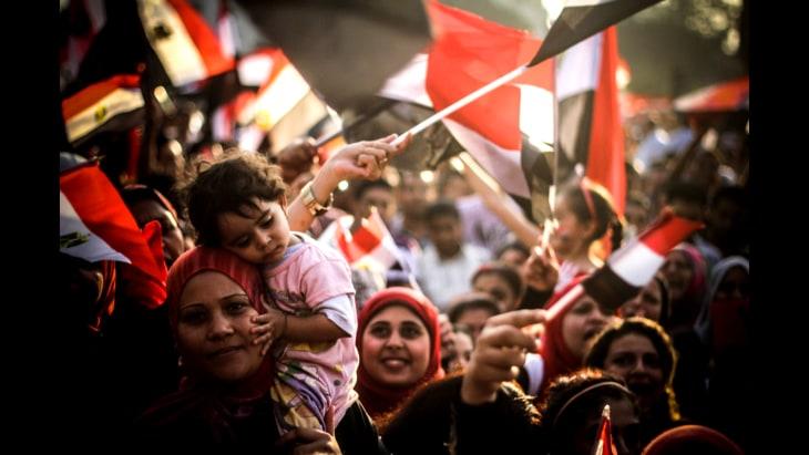 Dramatic, telling photos capture Egypt's evolving story