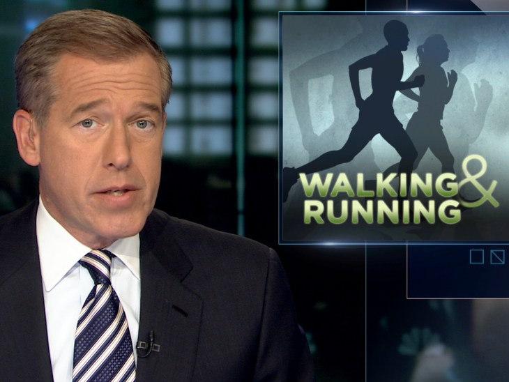 Walking may be just as effective as running