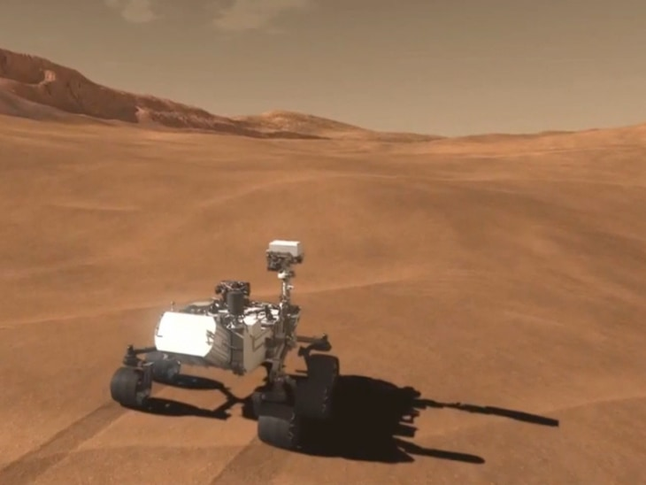 Mars rover set to land - Video on NBCNews.com