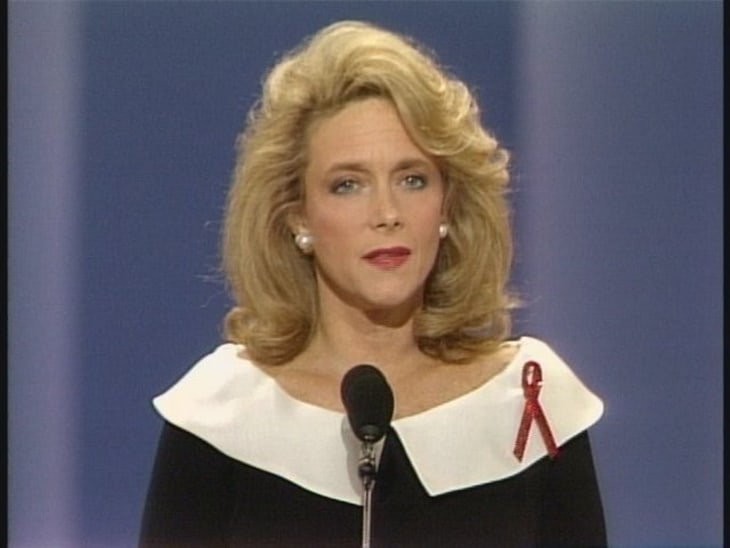 From the Archives: Mary Fisher's 'Whisper of AIDS' speech - Video on ...