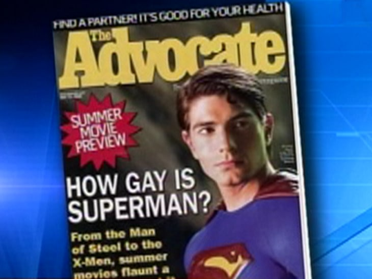 The advocate how gay is superman