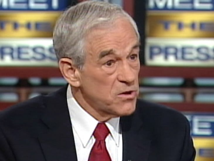 ron paul on meet the press transcript
