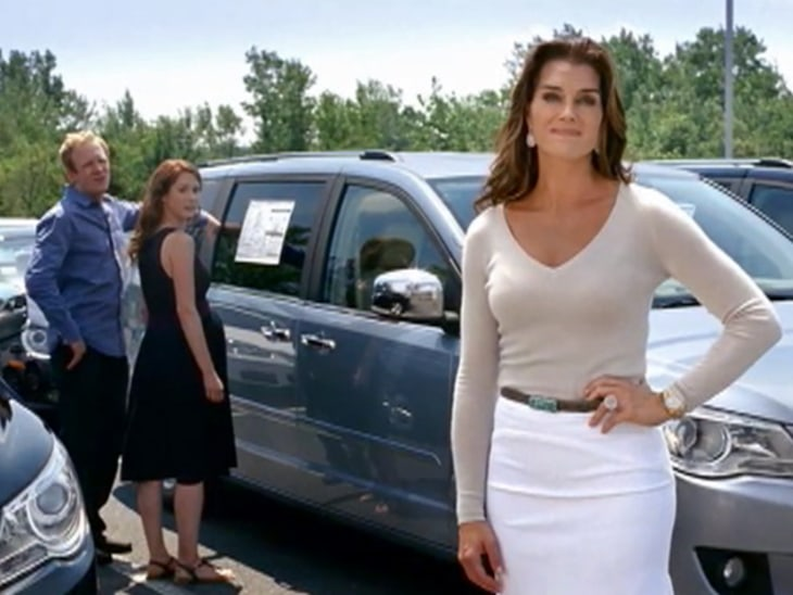 Brooke Shields On Minivan Moms And Dads Video On Nbcnews Com