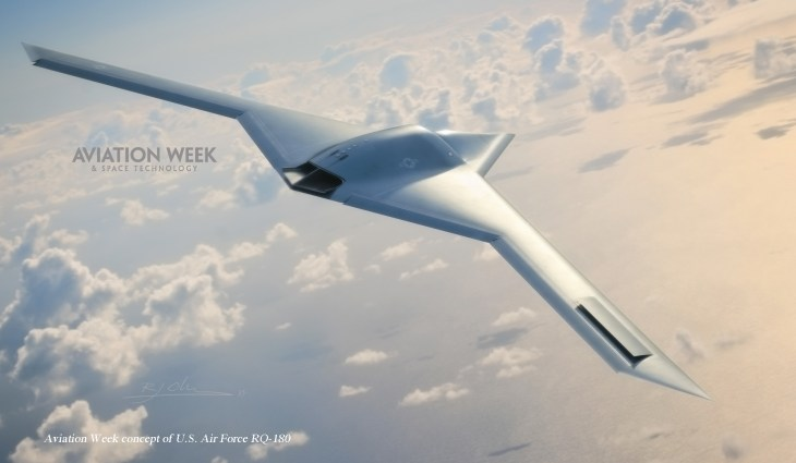 2D9870447 aviationweek.blocks desktop large Aviation Week: Air Forces new stealth spy drone is already flying
