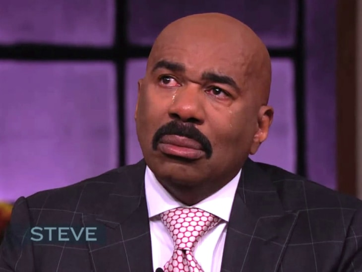 Steve Harvey breaks down during tribute to his late mother - TODAY.com