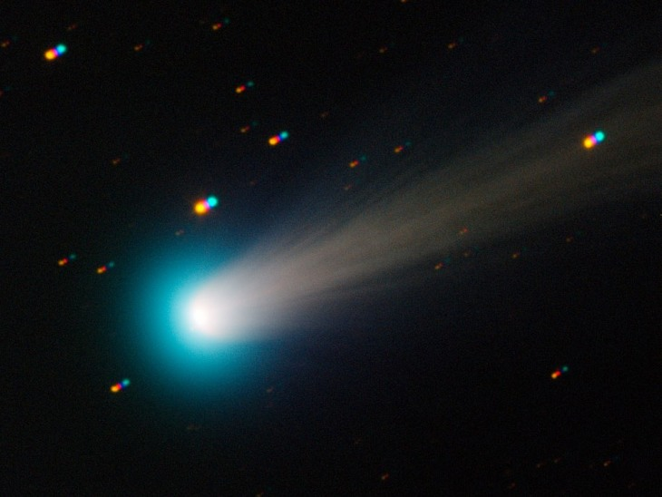 Image: Comet ISON as seen by TRAPPIST