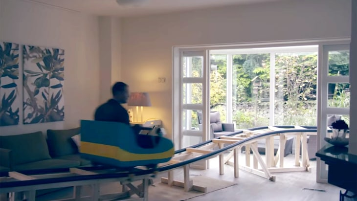 Roller coaster house in Netherlands aims to entice ...