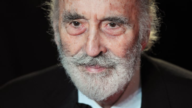 Christopher Lee.
