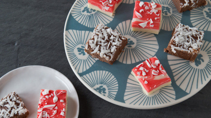 Easy fudge recipes: Chocolate, peanut butter, candy cane and more ...