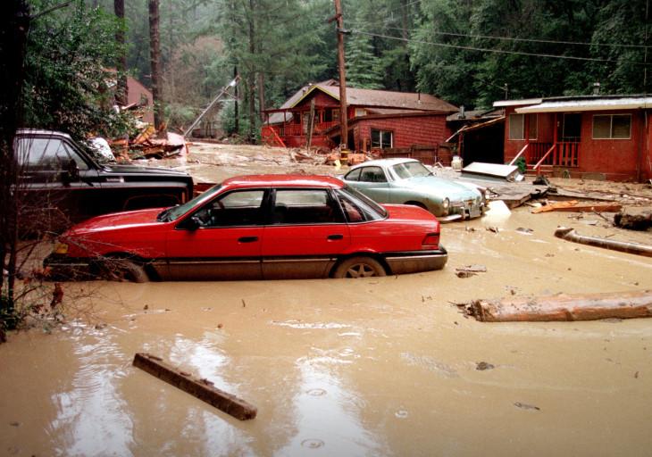 File photo of El Nino damage