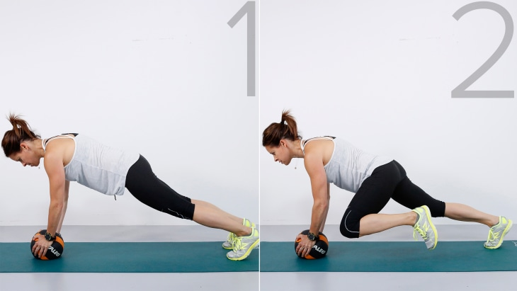Tone your abs with Jenna Wolfe's one move for arms, core ...