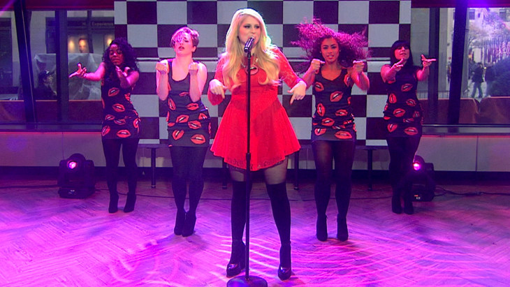 Meghan Trainor S Lips Are Moving On Today With New Tune