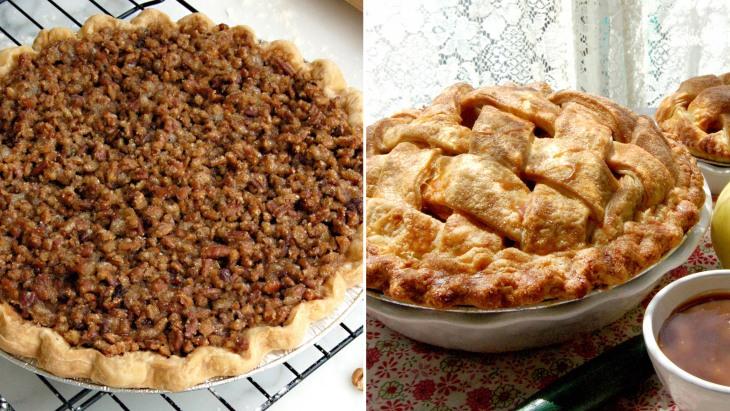 Bakery pie and cupcake recipes: Pumpkin praline pie, apple pie ...