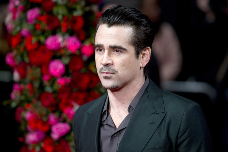 Colin Farrell's Irish accent would carry him far, but not as far as Americans or the Brits.