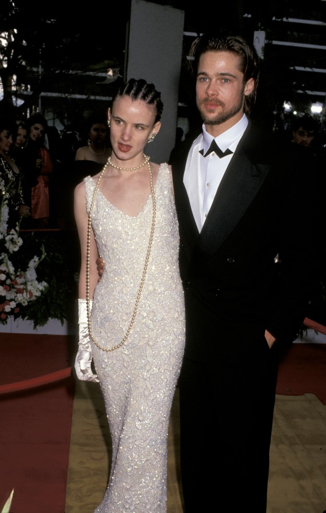 Juliette Lewis and Brad Pitt  at the 1992 Oscars
