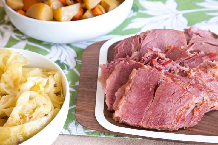 This slow cooker corned beef and cabbage recipe makes St. Patrick's ...
