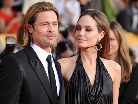 Анджелина Джоли и Брэд Питт: наконец-то женаты!