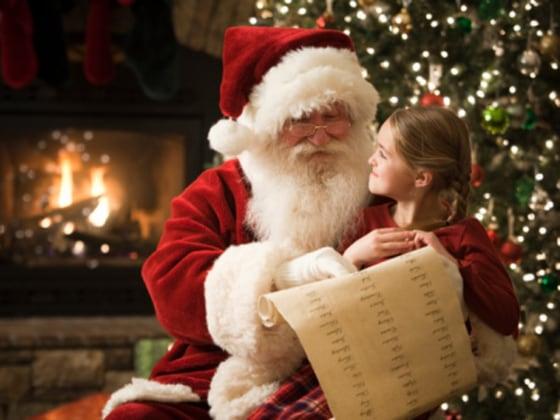 Image result for kids with santa