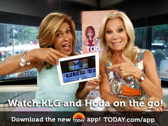 Klg and hoda s on the go app contest kathie lee amp hoda today com
