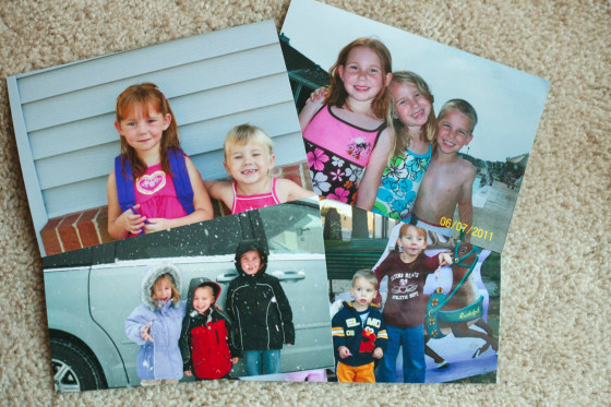 Cibolo, Tx., December 11. 2013: Photos of Alexis and her siblings, Kayley and Ethan, prior to Alexis' surgery in 2011. Alexis Shapiro, 12, had a brain...