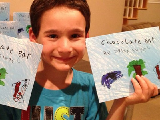 Dylan Siegel, 6, has written a book called