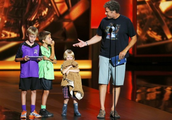 Will Ferrell Kids Emmys Will Ferrell and his t...