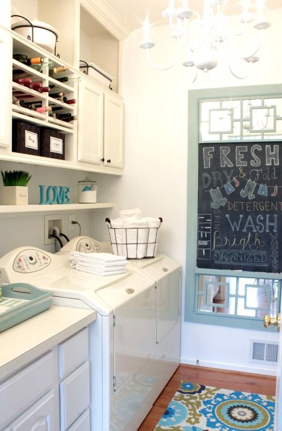 Cristina Gray's laundry room