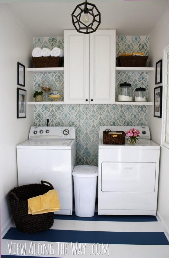 Kelly Marzka's laundry room