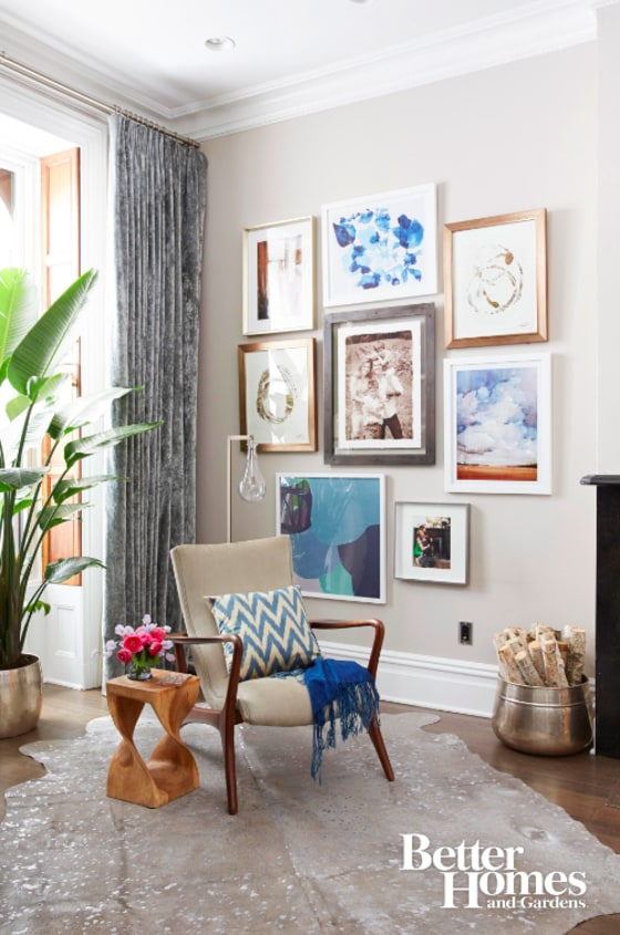 Natalie morales shares her living room makeover Better homes and gardens living room ideas