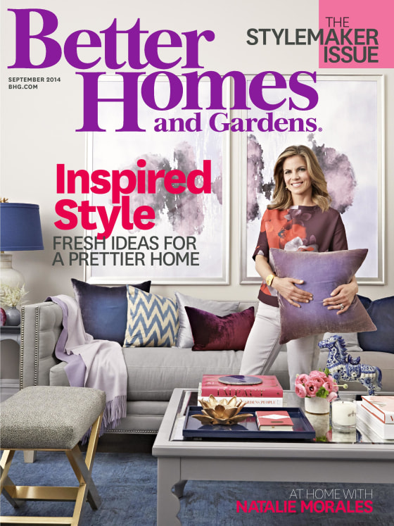 Natalie morales shares her living room makeover Better homes and gardens lifestyle