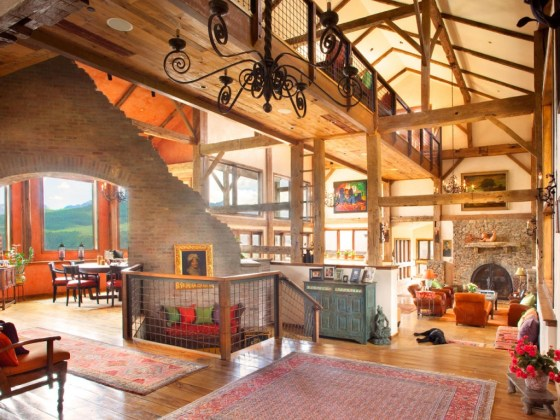 Expansive Telluride Mountain Retreat Grew Out Of Past
