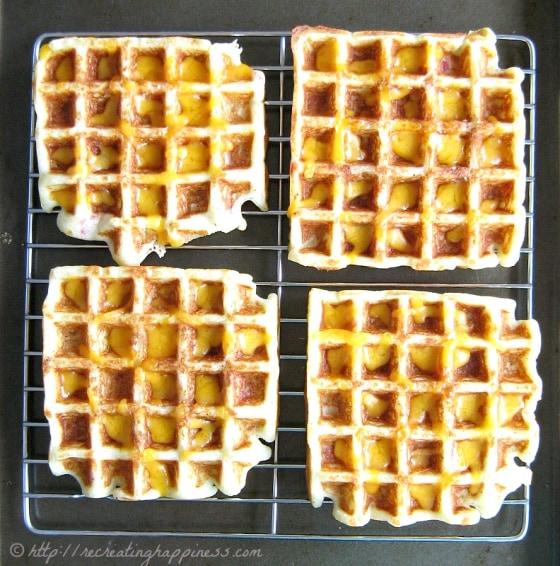 Loaded baked potato waffles! 4 awesome recipes for National Potato Day