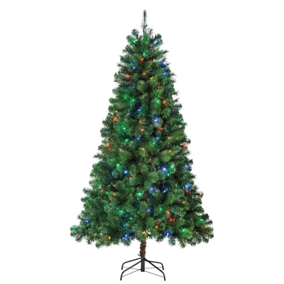 Real Christmas Trees Lowes: Christmas Decorations: Artificial Christmas Trees That Are
