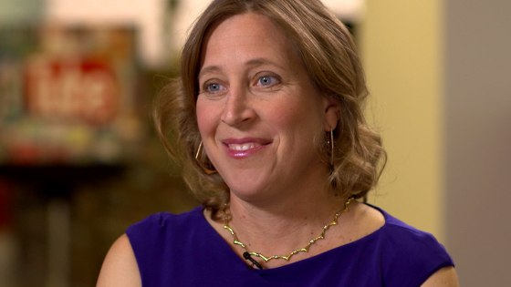 Wojcicki says she's glad she stuck it out as a tech executive and says that as time goes on it does get easier.
