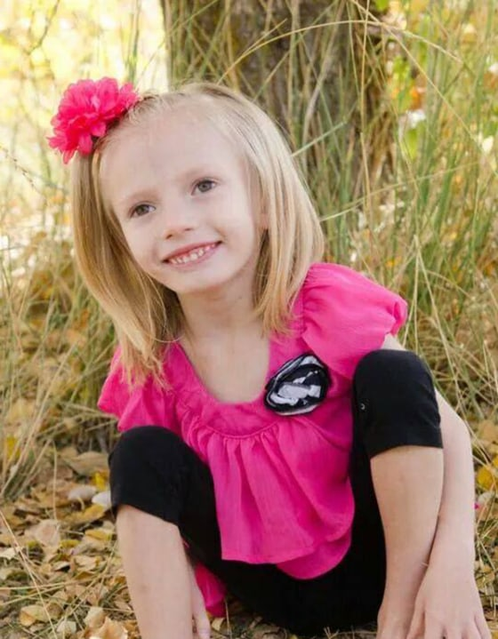 Addie Fausett, 6, of Fountain Green, Utah, is likely celebrating her last Christmas this year due to an atrophy of her brain that has left doctors puzzled.