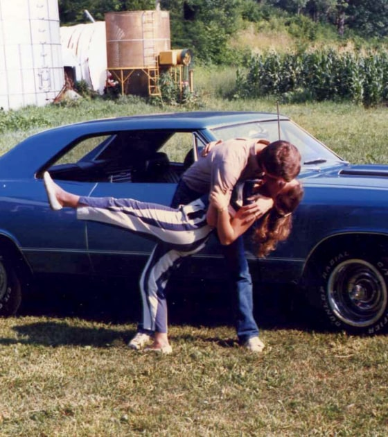 Muscle cars are a known aphrodisiac... Michelle and Jim Bob get frisky in the early 80s.