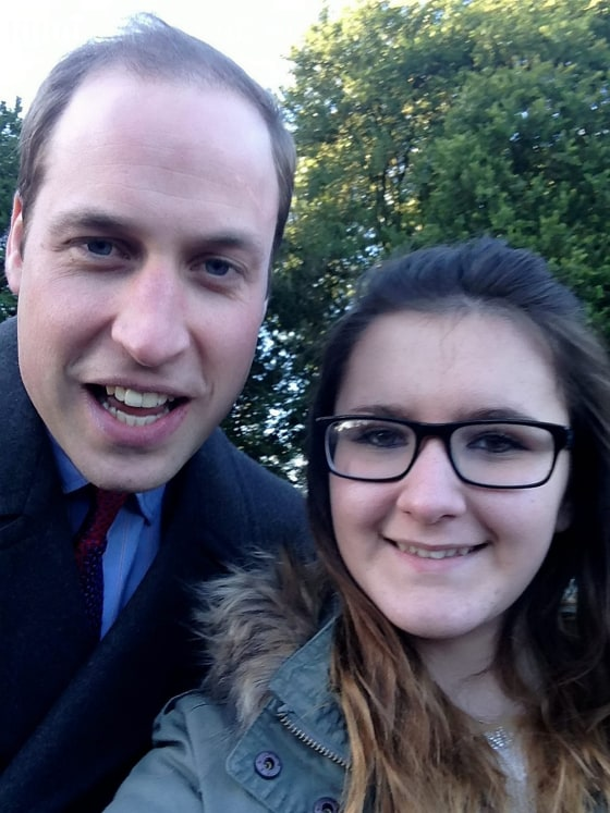 Madison Lambe's unique selfie taken with Prince William. See News Team story NTISELFIE: Prince William followed in his father's footsteps when he ...
