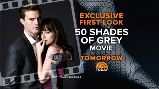 Fifty Shades of Grey TODAY promo