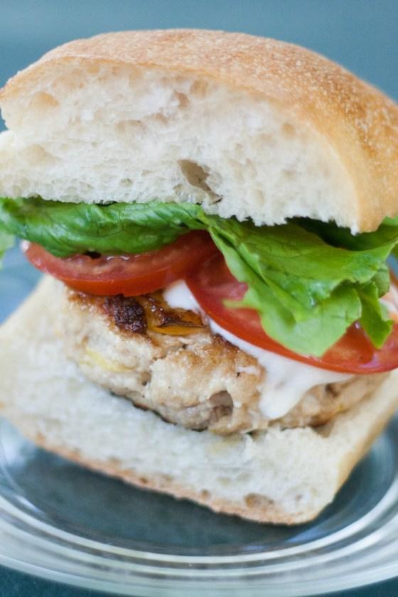 Swordfish burger