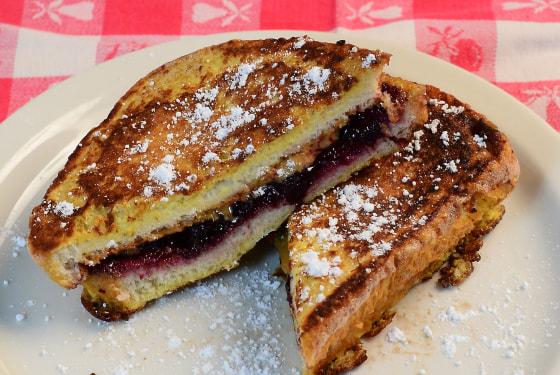 Image: PB&J French Toast