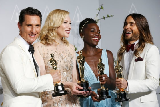 IMAGE: McConaughey, Blanchett, Nyong'o, Leto