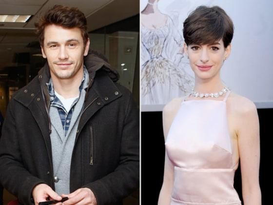 James Franco Reignites Anne Hathaway Feud - TODAY.com Anne Hathaway Feud