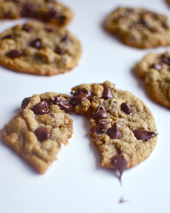 Gluten-Free Chewy Chocolate Chip Cookies Recipe — Dishmaps