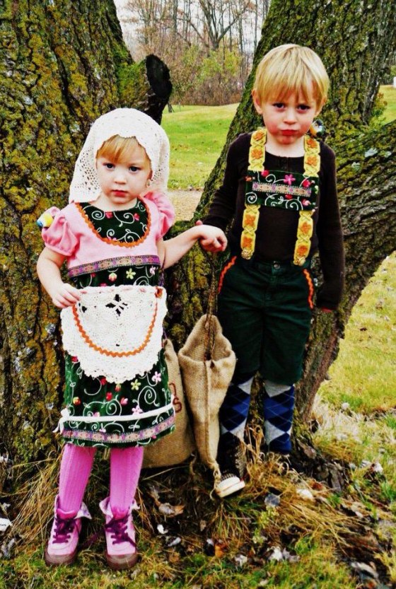 : Stacy Gregerson writes of these terrific Hansel and Gretel costumes