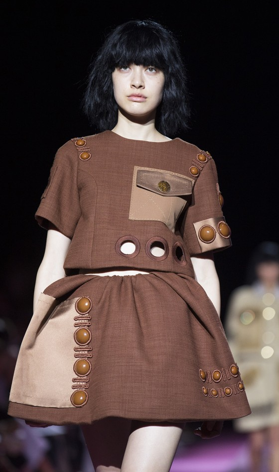FILE - In this Thursday, Sept. 11, 2014, file photo, the Marc Jacobs Spring 2015 collection is modeled during Fashion Week in New York. (AP Photo/John...